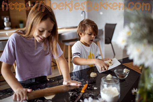 Ook kinderen kunnen makkelijk lekkere koekjes bakken!