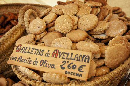 Spaanse hazelnootkoekjes