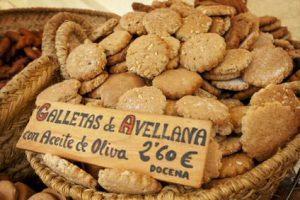 Spaanse hazelnootkoekjes: galletas de avellana